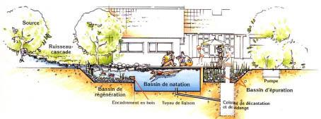 Baignades en provence for Plan piscine naturelle